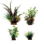 Набор растений Дизиготека красно-зеленая Ротала Лютик водный Лилеопсис 8-23 см 4 шт Art Uniq, фото 1