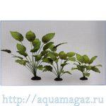 Растение Анубиас Бартера 20см шелковое