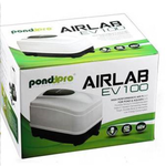 Компрессор AIRLAB EV100 мембранный 60 W Р=0,048Mpa 105 л/мин (в комплекте штуцер патрубок разделитель потока) энергосберегающая технология принудительное воздушное охлаждение, фото 1