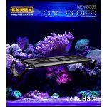Светильник LED CLX-1, для морского аквариума программируемый 50см, 84вт, черный, на аквариум 60-90см