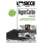 Наполнитель для фильтров SICCE HYPERCARBO COCCO активированный уголь 2x150 г, фото 1