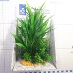 Композиция из пластиковых растений 20см, фото 1