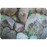 Фон односторонний 60см. Зеленые камни
