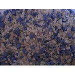 Грунт крашеный фиолетовый+белый 3-5мм 1 кг