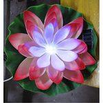 Подсветка декоративная Solar Lily в форме лилии