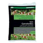 Цветной грунт для мини-аквариумов Dennerle Nano Garnelenkies, цвет  Arkansas grеу  (серый), 2 кг