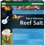 Специальная морская соль для небольших морских аквариумов Dennerle Nano Marinus ReefSalt, 1 кг