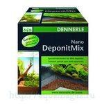 Специальная грунтовая подкормка для мини-аквариумов Dennerle Nano Deponit Mix, 1 кг