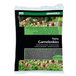 Цветной грунт для мини-аквариумов Dennerle Nano Garnelenkies, цвет  Sulawesi black , 2 кг