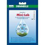 Минилаборатория для тестирования 5-ти показателей пресной аквариумной воды Dennerle MiniLab, 5 шт.