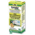 Препарат против жаберных, ленточных и других червей, 100 мл на 500 л JBL Gyrodol Plus 250, 100 мл