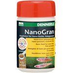 Основной корм в форме мини-гранул для небольших рыб Dennerle Nano Gran