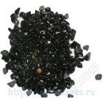 Грунт Кварц натуральный черный 3-4мм 25 кг