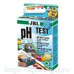 Комплект для простого быстрого контроля значения pH в пресной и морской воде в диапазоне от 7,4 до 9,0 единиц на 80 измерений JB