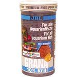 Основной корм класса  премиум  в форме гранул для маленьких рыб JBL Grana, 250 мл 110 г