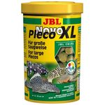 Водорослевые чипсы экстра-большого размера с примесью целлюлозы для кольчужных сомов JBL NovoPleco XL, 5,5 л 3150 г