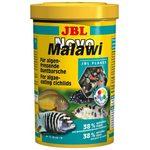 Корм в форме хлопьев для растительноядных цихлид из озер Малави и Таньгаика JBL NovoMalawi, 250 мл 38 г