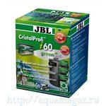 Внутренний угловой фильтр для аквариумов 40-80 литров, 150-420 л/ч JBL CristalProfi i60 greenline