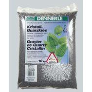 Гравий 1-2 мм, сланцево-серый Dennerle Kristall-Quarz 10 кг, цвет сланцево-серый