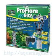 JBL ProFlora m602 - Система СО2 для аквариумов от 100 до 600 литров с пополняемым баллоном 500 г, подставкой для баллона, редукт