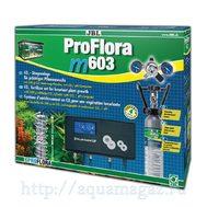 JBL ProFlora m603 - Система СО2 для аквариумов от 100 до 600 литров с пополняемым баллоном 500 г, подставкой для баллона, редукт