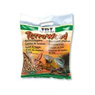 Буковая щепа, натуральный донный субстрат для сухих и полусухих террариумов JBL TerraWood, 20 л