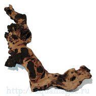 Коряга натуральная Mopani размером 10-27 см. JBL Mopani Wurzel S