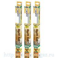 Люминесцентная Т5 лампа для пустынных рептилий, 24 ватта, 550 мм, 7400 кельвинов JBL SOLAR REPTIL SUN T5 ULTRA 24 Вт