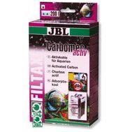 Высокопроизводительный активированный уголь для пресноводных аквариумов JBL Carbomec activ, 400 г
