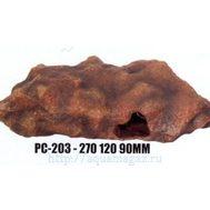 Камень-укрытие для рептилий  L270 x W120 x H90мм