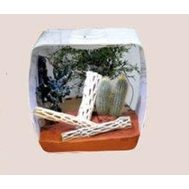 Инсектариум/аквариум универсальный  Life Box 30, 14л, белый, 30х18х30