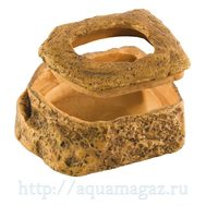Кормушки-камни для подвижного корма Worm Dish, 11,5х9х5 см
