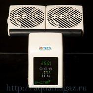 Вентилятор двойной аквариумный с термоконтролером