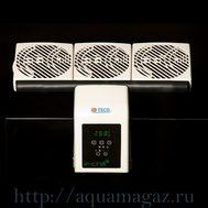 Вентилятор тройной аквариумный с термоконтролером