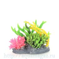 Композиция из кораллов пластик+силикон 19х18х16.5см