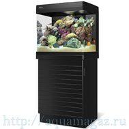 Аквариум MAX 250 морской  черный -  комплект (аквариум и тумба)