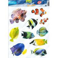Набор наклеек Морские рыбы Tetra Deco Art