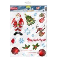 Фон Санта-Клаус/Снеговик