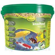 Pond Sticks 10л, корм для прудовых рыб, гранулы для основного питания