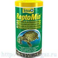ReptoMin 1л гранулы для черепах