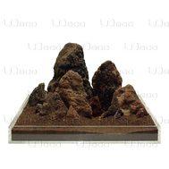 UDeco Brown Lava MIX - Камень Лава коричневая размер 5-35 см