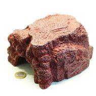 JBL ReptilCava RED M - Пещера для террариумных животных, красная, 16 х 13,5 х 10 см
