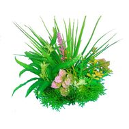 Композиция из пластиковых растений 15 см PRIME M621