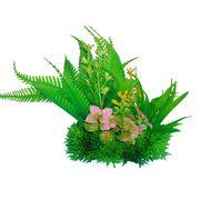 Композиция из пластиковых растений 15 см PRIME M626