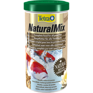 Natural Mixкорм для прудовых рыб,смесь растительных гранул и речных креветок, фото 1