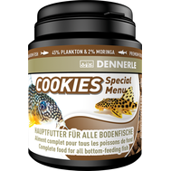 Корм для донных рыб Dennerle Cookies Special Menu чипсы  84 г DEN7511