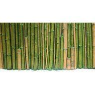 Фон рельефный Бамбук 118х58см зеленый