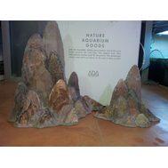 ADA Guilin Stone Brown, Набор из 2 модулей коричневых для 120 см, фото 1