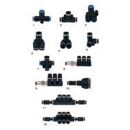 1-3 Branch 4-х канальный разветвитель для системы подачи СО2, фото 1