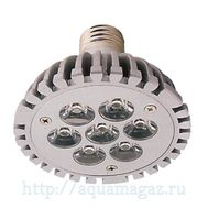 Лампа LED aquasunspot 7 16000К цоколь Е 27, 230В/7 Ватт